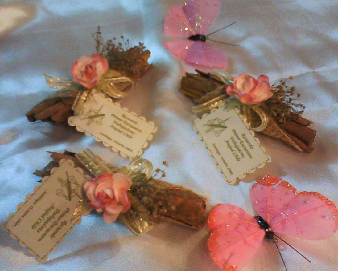 Recuerdos en Muselina y flores Aromáticas